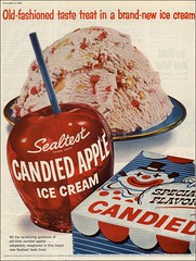 1956 Candied Apple Sealtest Ice Cream (1950sUnlimited) Tags: food design desserts icecream 1950s packaging snacks 1960s dairy midcentury snackfood sealtest