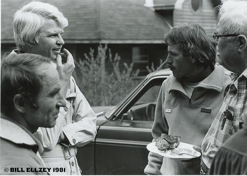 Mountainfilm in Telluride picnic in 1981