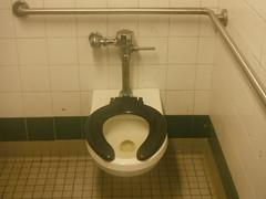 Public toilet@Euclid Ave Subway Sta (BESTWAY64) Tags: brooklyn subway bathroom stall toilet neighborhood transit crapper mensroom publicrestroom nycha toiletseat nycta handicapstall