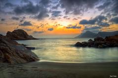 Atardecer en la Playa del Lastre,Portman (Legi.) Tags: longexposure sunset sea landscape atardecer nikon 1855mm 1855 cartagena marmediterráneo largaexposición portmán launión d5100