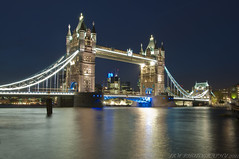 Tower Bridge (JRT ) Tags: longexposure sky london night towerbridge lights nikon tripod icon cables walkway bluehour riverthames cablerelease d300s mygearandme mygearandmepremium mygearandmebronze mygearandmesilver mygearandmegold mygearandmeplatinum mygearandmediamond johnwarwood