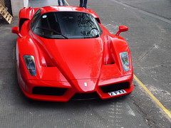Enzo (BenGPhotos) Tags: red london car italian ferrari exotic enzo rosso rare supercar spotting corsa v12 hypercar 2fxx