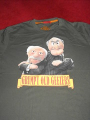 Grumpy Old Geezers T-shirt (On-Ki) Tags: sale muppets tshirt clothes