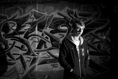 46/52 - Night Photography (Sean Kelly Aus) Tags: nightphotography graffiti melbourne hosierlane 2012 week46 strobist 522012 52weeksthe2012edition weekofnovember11