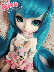 ☜ Miku Sweet Laughs ☞ (Ashe Room) Tags: anime cute beauty japan design photo doll candy sweet lol room manga dal clothes story planning wig designs groove pullip custom lots diorama jun laughs ashe hatsune miku isul taeyang プーリップ byul vocaloid 初音ミク p034 ashesroom