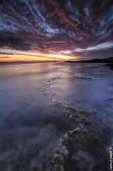 Colores del amanecer (Carlos J. Teruel) Tags: longexposure sunrise mar nikon mediterraneo tokina murcia cielo nubes cartagena cabodepalos rocas reflejos marinas d300 filtros xaviersam singhraydarylbensonnd3revgrad carlosjteruel