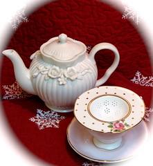 Royal Albert Tea Party (snap713) Tags: tea teapot teacup teastrainer royalalbert