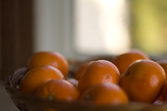 Oranges by the Window (symbot) Tags: fruit basket pentax citrus oranges k110d