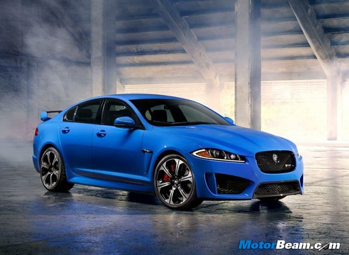 Blue-Jaguar-XFR-S
