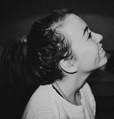 you deserve a smile  (Grines) Tags: life boy blackandwhite white black cute love girl smile hair happy heart ponytail truelove cutegirl deserve boyandgirl happylife truesmile youdesereve cutesmil