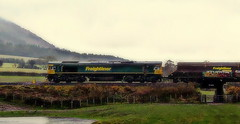 StokesAy to Stoke G (Jim the Joker) Tags: train railway freight stokesay freightliner class66 66535 4v06