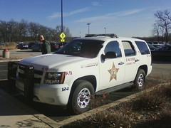 IL - Kane County Sheriff's Canine Unit (Inventorchris) Tags: county dog illinois tahoe canine il chevy sheriff kane bloodhound k9 unit sheriffs