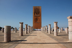 Hassan Tower (DelightTurkish) Tags: tower capital marocco hassan marokko rabat