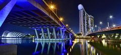 Heading for Marina Bay Sands? East Coast Parkway or Bayfront Ave will bring you in... (williamcho) Tags: bridge ngc casino convention hotels expressway nationalgeographic marinabay eastcoastparkway gardensbythebay marinabaysands bayfrontave ©williamcho2012