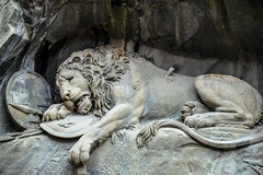 Lwendenkmal - Dying Lion Monument of Lucerne Switzerland (mbell1975) Tags: sculpture monument statue schweiz switzerland memorial europe suisse swiss lion luzern dying svizzera lucerne lucerna lwen lwendenkmal