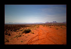 13 Miles Away (Seeing Things My Way...) Tags: arizona usa rock utah desert formation monumentvalley milemarker13
