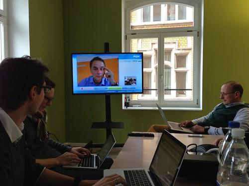 Salestelco mit Skype Videoconference auf by andreas_fischler, on Flickr
