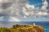 Rainbow meet Lighthouse (RoamingTogether) Tags: lighthouse hawaii nationalpark rainbow kauai tamron hdr nationalwildliferefuge kilaueapoint kilaueapointnationalwildliferefuge nikond700 283003563