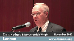 Chris Hedges gave a talk in Chicago, IL on 12 November 2012 (lannanfoundation) Tags: chicago writer chrishedges reverendjeremiahwright culturalfreedom lannanfoundation