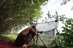 Invisible man (Alexandre Kundun) Tags: me alex heron canon lens eos duck swan carriage angle martin blind wide moi camouflage 7d cormorant alexandre 1022mm sinner 100400mm cygne canard hron cormoran pcheur 450d afft obsvervation