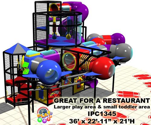 IPC1345 Restaurant Playground Equipment