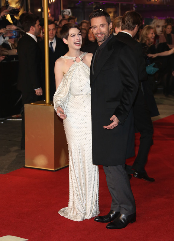 Anne Hathaway and Hugh Jackman Les Miserables World Premiere held at the Odeon & Empire Leicester Square - London - WENN.com