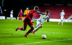 FC Copenhagen - Thomas Delaney (Henrik Thorn) Tags: soccer fck kamp dribble fodbold parken euroleague fckøbenhavn fccopenhagen finte fodboldspiller nærkamp
