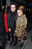 Nick Grimshaw and guest Stella McCartney store lights switch held on Bruton Street. London, England