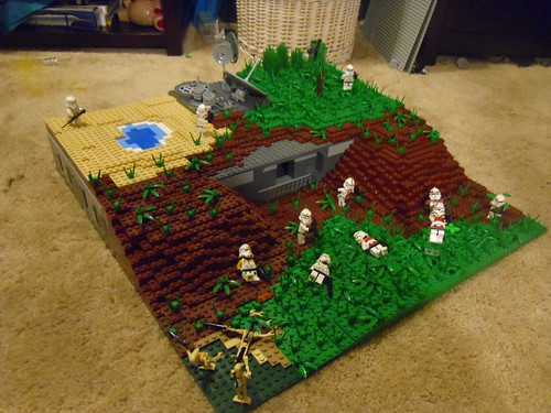 Lego Star Wars Alderaan Lego Star Wars Clone Base on