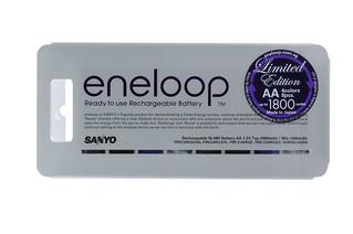 Sanyo Eneloop New Glitter AA Battery Packs