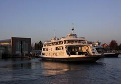 """The car ferry """"Romanshorn"""" / Die Autofaehre """"Romanshorn"""" (Baubo Bittern) Tags: bodensee friedrichshafen badenwrttemberg lakeconstance"""