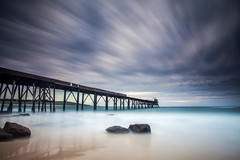 240 seconds ago. (madarchie0) Tags: longexposure wharf catherinehillbay leebigstopper