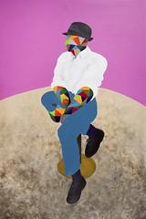 Selfportrait after Francis Bacon V 195 x 130 cm Acrylic on canvas 2011