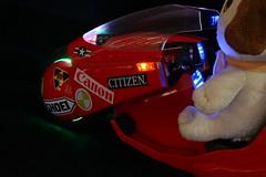 Cool Lights (katsuboy) Tags: anime bike japan toys japanese lottery motorcycle akira kuji merrychristmas figures kikaida tetsuo kikaider naughtyornice tokusatsu bfigure nendoroid nemunemu vocaloid christmasmiku bprize