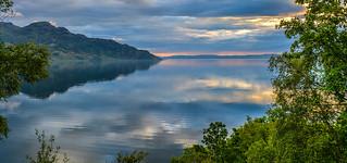Evening Light, Loch Hourn