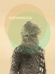 Chewbacca (kentonanderson) Tags: starwars luke leia chewbacca midcenturymodern poster originallytrilogy graphic design