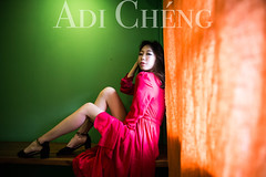 Adi_0038 (Adi Chng) Tags: adichng girl      redgreen
