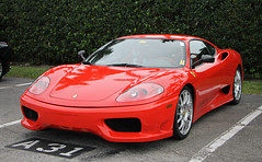 Ferrari 360 Challenge Stradale (SPV Automotive) Tags: ferrari 360 challenge stradale coupe exotic sports car supercar red