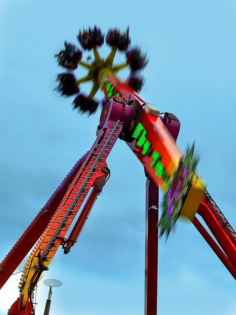 physics what makes a ride thrilling Students learn a heart-pounding lesson in physics that teaches just what makes roller coasters like hollywood rip ride rockit™ so thrilling  a steam app series.