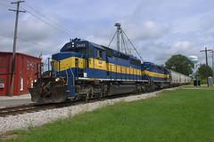 TPW 3440 West (BSTPWRAIL) Tags: tpw toledo peoria western railroad railway rail america railamerica road way gw genesee wyoming illinois sd402 locomotive local grain train extra washington