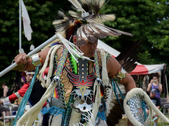 2016.06.19 Redhawk Council Pow Wow, East Brunswick, NJ (Katie Wilson Photography Adventures) Tags: redhawk native american arts festival pow wow june summer nj new jersey special event tribute americans dancing cultural celebration honor warriors ladies children family feathers costume costumes vibrant beautiful entranced katie wilson photo adventures photography practice day hot paint artists performance tribes tribal black white flute live music dummers drums weaving flags traditions traditional generations dance amatuer dramatic art dreamcatcher sunny