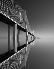 Light Lines (vulture labs) Tags: vascodagama portugal lisbon lisboa architecture art photography fineart vulturelabs blackandwhite monochromatic monochrome mono zeiss light lines geometry minimal