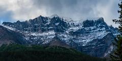 Panorama 10 (Adrian De Lisle) Tags: lakemoraine banffnationalpark banff mountains clouds panorama