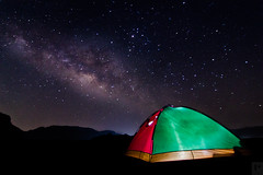 Pre Monsoon Clear Skies with Milkyway (Prabal Pandey) Tags: milkyway milkywaygalaxy tent camping bhandardara galacticcentre milky way india astrolandscape astrophotography maharashtra