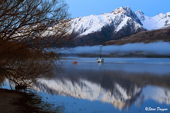 0S1A2649 (Steve Daggar) Tags: glenorchy newzealand sunrise landscape mountains snowcappedmountains reflections reflection lake queenstown