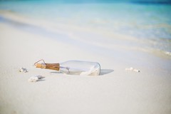 Message in a Bottle (icemanphotos) Tags: secret solitude beach summer travel seascape holiday hu sunsetlovers theplacetobemaldives maldives lssa luxresorts
