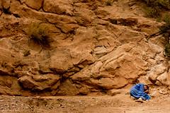little nap, Marocco (soundmoods) Tags: nap sleep rock orange blue siesta marocco dessert sleeping desert