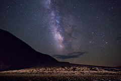 Milky Way at Badwater - Explored Aug 2016 (Justin Cameron) Tags: galaxy 24mm milkyway badwaterbasin astrophotography stars roadtrip canon5dmkiii 2016 deathvalley hot california westcoast starscape america samyang24mmf14edasumc samyang canon