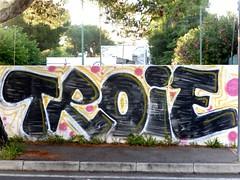 Pescara, Italy (nothinginside) Tags: troie sluts troia slut whore murale art street pescara italy graffiti color colours coulors spray italia lungomare nord kilometro doro km