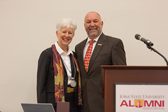 2016 - August - CHS - Dean Jolly Medalion Ceremony-38.jpg (ISU College of Human Sciences) Tags: dunn jolly laura back convocation dean leath president stephenleath steven welcome
